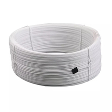 white Plastic nose wire PE single/Double/core &Full plastic For disposable mask material