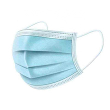 Disposable Medical 3ply Surgical Face Mask Spunbond Nonwoven Fabric+meltblown Fabric+spunbond Nonwoven Fabric