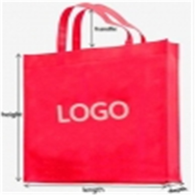2019 New Design Handle Bag Pp Non Woven Fabric for Shopping Bags Manufacturer
