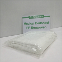 Medical blue white S,SS,SMS nonwoven bedsheet,non woven bed cover