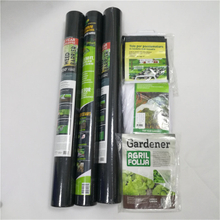 Weed control polypropylene Nonwoven For black for Agriculture Cover Mat