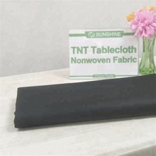 Disposable restaurant colorful nonwoven tablecloth,pre-cut nonwoven table cloth fabric Italy