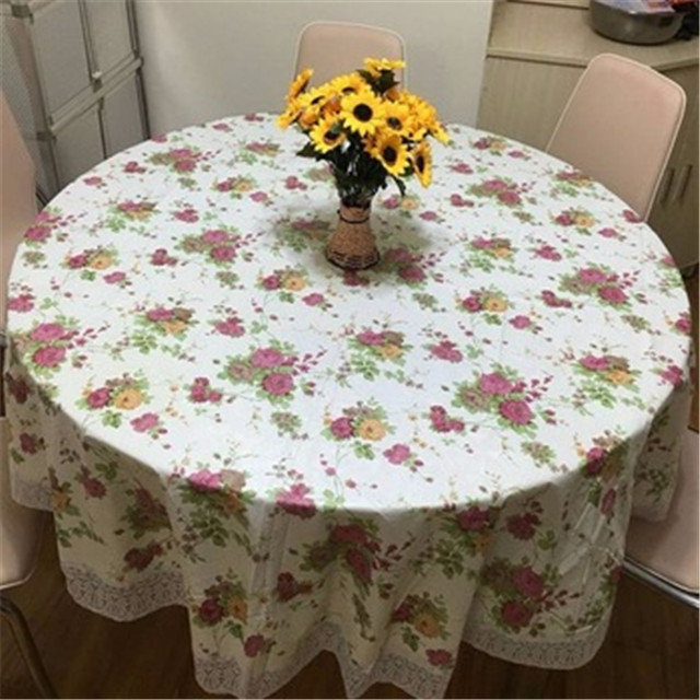 China supplier PP Spun bond Non Woven Fabric waterproof colorful Tablecloth