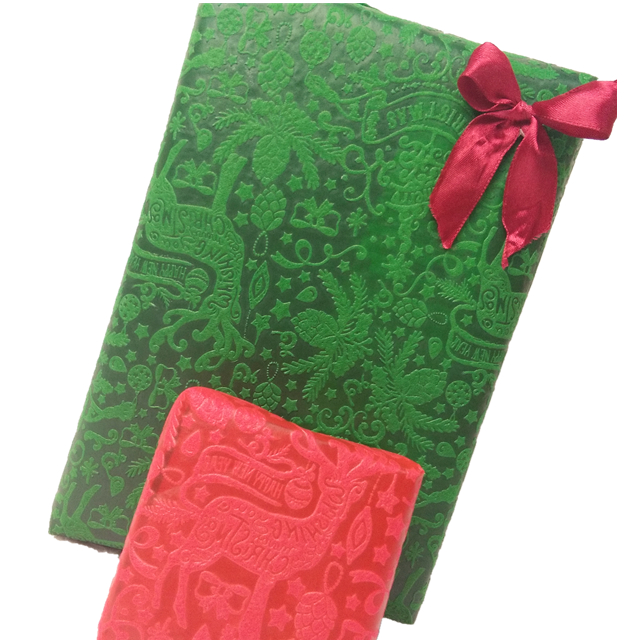 Christmas Embossed Pp Cloth for handmade,wrapping,decoration