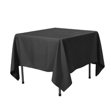 Stock Sliced tablecloth 45gsm 1m*1m nonwoven table-cloth waterproof colorful 25pcs/bag