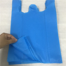 Factory wholesales 100% pp nonwoven fabric for Eco-friendly T-shirt shopping bags