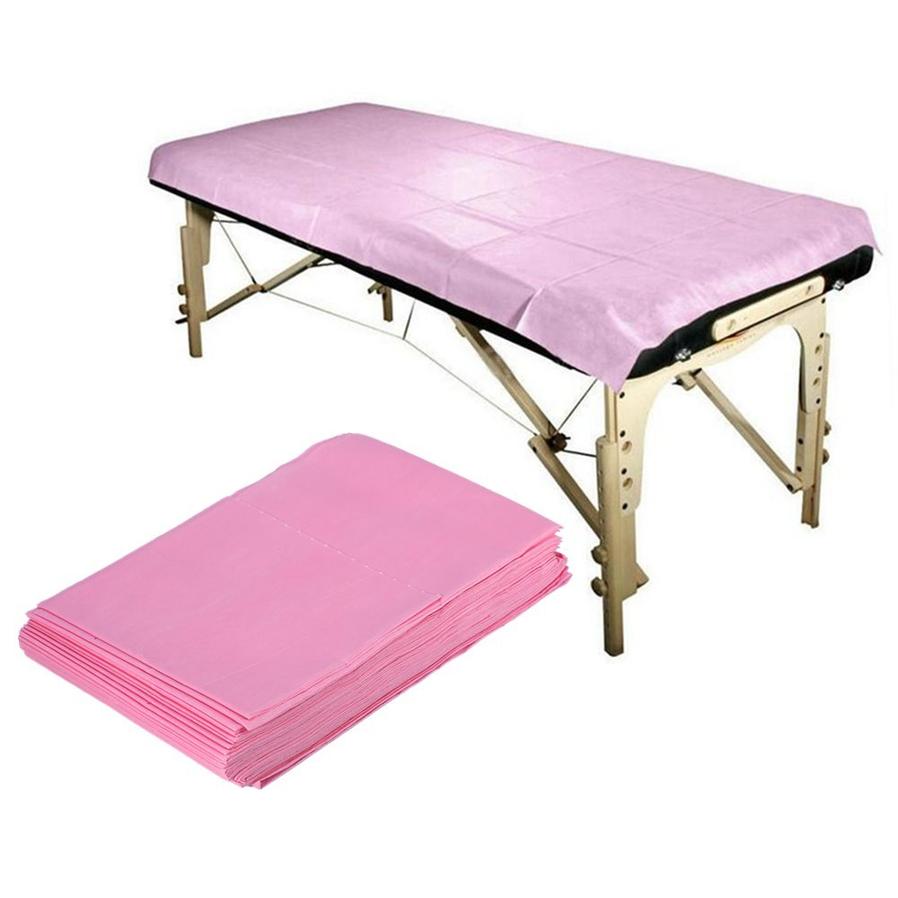 China Factory Sales Disposable PP Nonwoven Bed Sheets for Beauty Salon