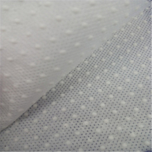 wholesale supplier Anti-slip pp+pvc nonwoven fabric non-slip fabric for shoes