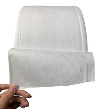 White meltblown non woven fabric disposable face mask material
