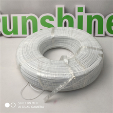 White Plastic Nose Wire Single Core Disposable