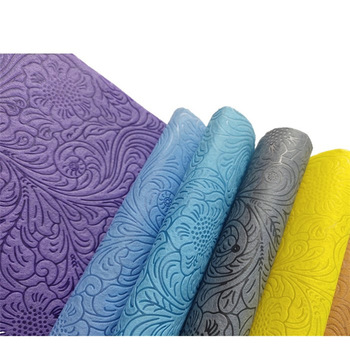 Cuztomized Embossed PP polypropylene Nonwoven fabric Roll